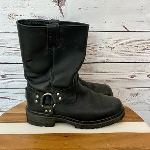 Five Star Harness Work Boots Moto Motorcycle